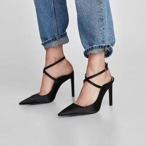 Zara Slingback High Heel Shoes